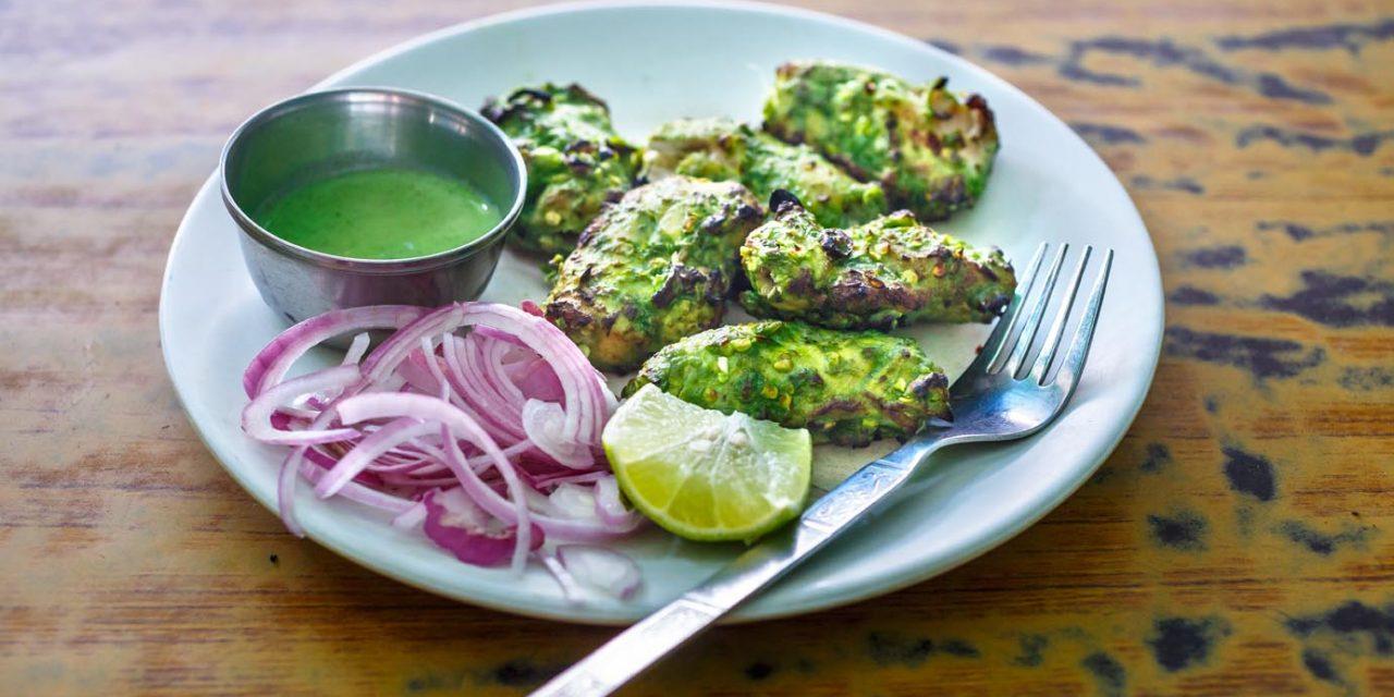 Green Chicken Tikka