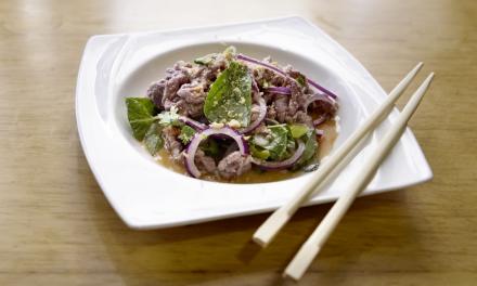 BÒ TÁI CHANH / vietnamesischer Rindfleischsalat