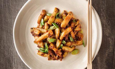 Auberginen mit Fischduft / Yú Xiāng Qié Zi