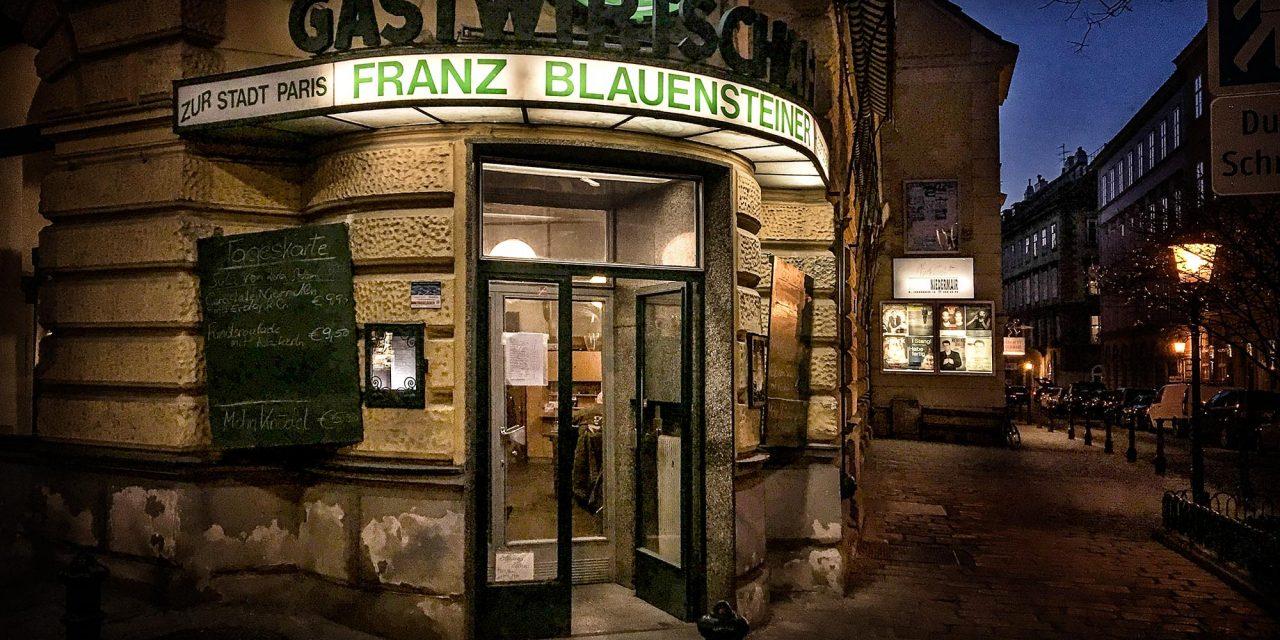Gastwirtschaft Blauensteiner / Wien 8