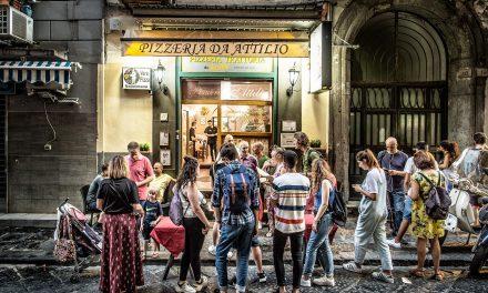 Pizzeria da Attilio / Neapel, Italien
