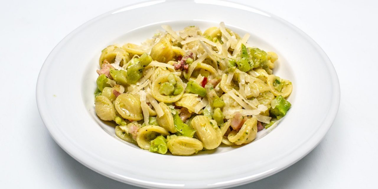 Orecchiette mit Brokkoli & Pancetta