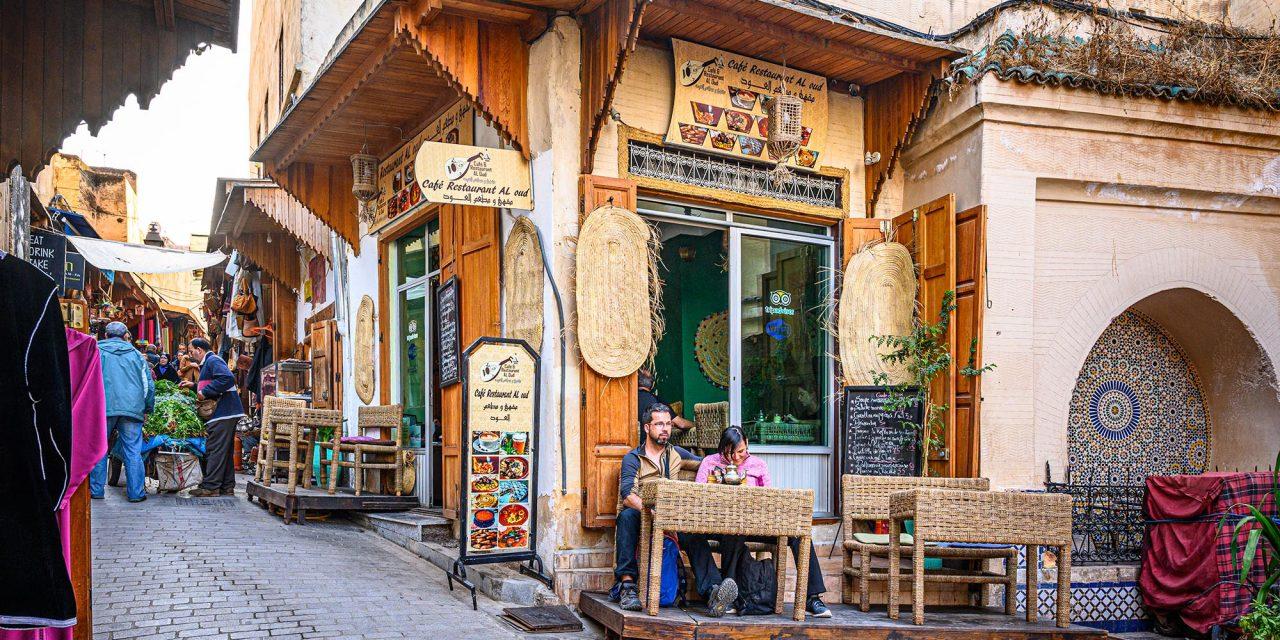 Café Restaurant Al Oud / Fes, Marokko
