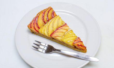 Apfel-Tarte mit Salzkaramell